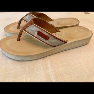 Coach Shoes - Authentic Coach Flip Flops